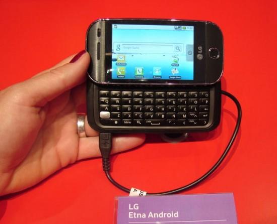 Lg lanza su primer Android: LG Etna