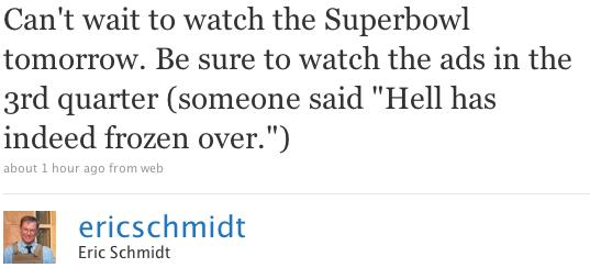 schmidt-tweet