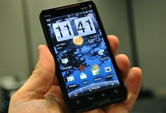 HTC EVO 4G: Sprint Android Official For Summer 2010