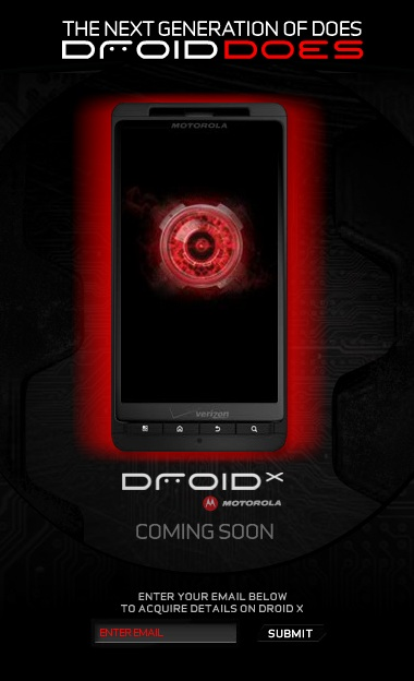 droid-x-signup-site