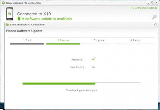 Debrand & software update sony ericsson xperia x10 mini & mini pro.