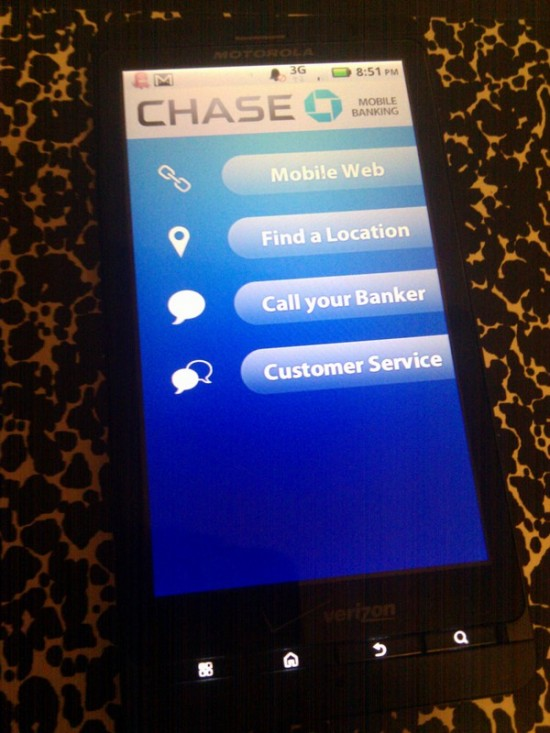 chase android app