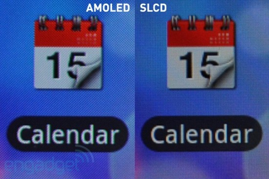 amoled vs lcd pixels