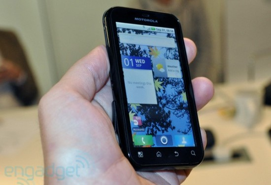 Newly Announced Motorola Defy is Rugged and Runs Android 2.1