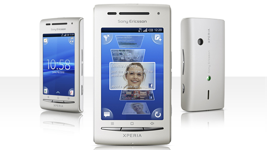 Sony Ericsson Begins Shipping the Xperia X8