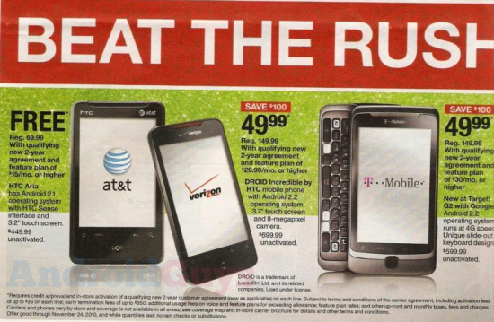 Black Friday Deals See Price Cuts for Phones through US