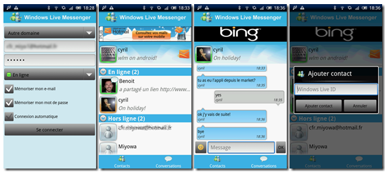 Official Windows Live Messenger for Android App to Be