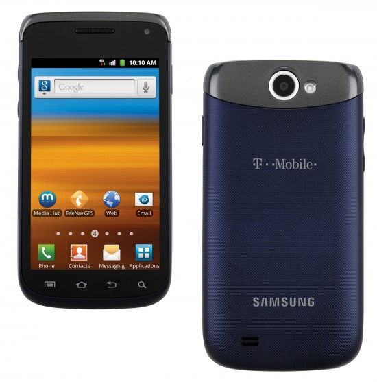 T Mobile Announces Samsung Exhibit Ii 4g Galaxy W For 200 Off