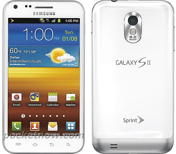 Sprint Galaxy S2 Epic Specs