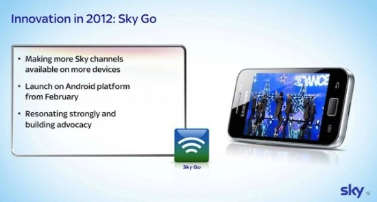 Android Sky Go