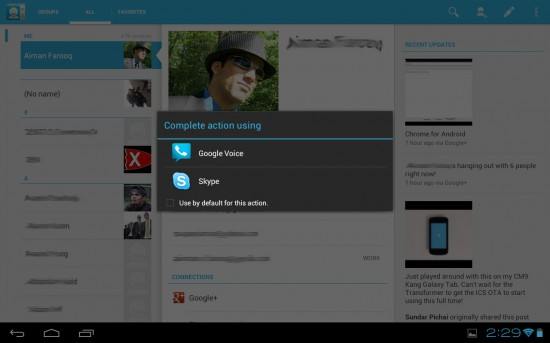 Google Voice receiving update, gets new tablet features and ICS icon
