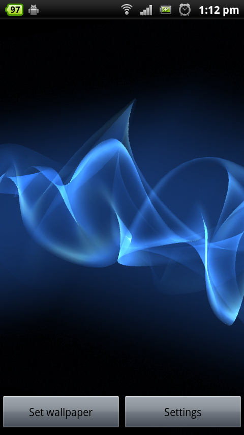 Sony Xperia S Cosmic Flow Live Wallpaper For All Devices Download