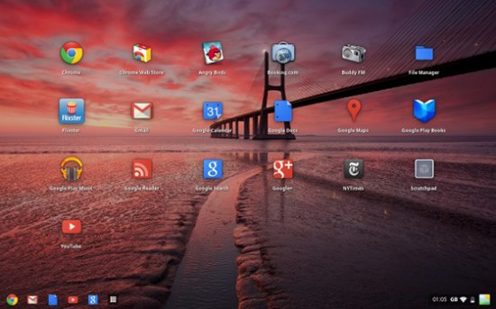 Chrome OS and Google Now themes give Android a fresh new look