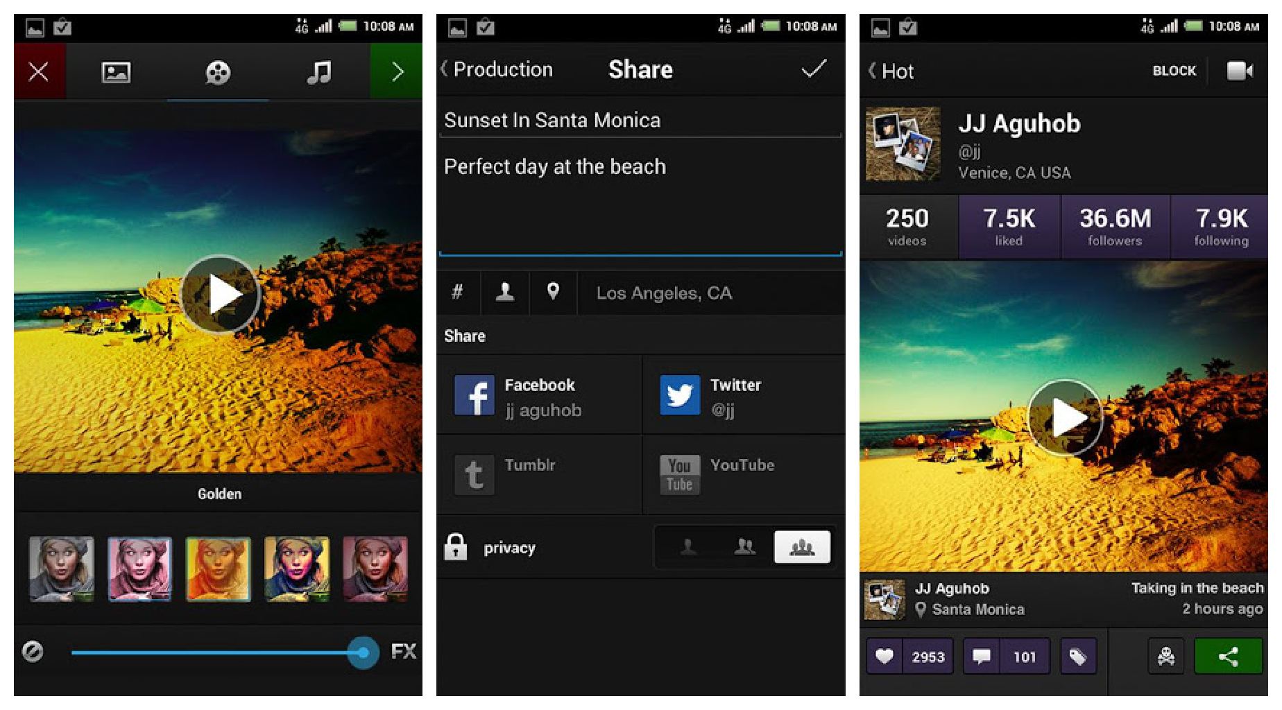 Viddy now available for Android – It's like Instagram and