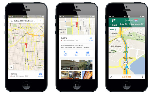 Google releases Maps for iOS – Should Apple or Android users ... on web-based applications, command line applications, google applications, nanorobotics applications, social media applications, nfc applications, firefox applications, computer applications, freeware applications, facial recognition applications, tech applications, smartphone applications, linux applications, windows applications, mhealth applications, best applications, microsoft applications, pega applications, openvms applications,