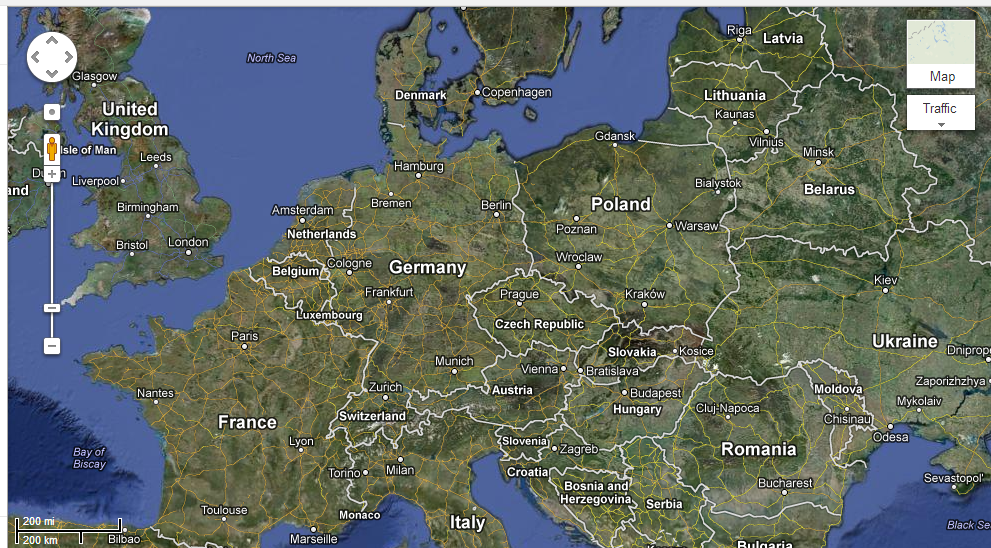 Map Of Germany Google.Google In Danger Of Having Maps Banned In Germany