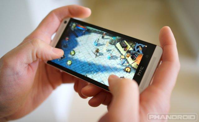HTC One BoomSound game