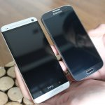Samsung Galaxy S4 and HTC One