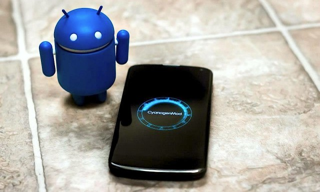 CyanogenMod Blue Android