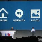 Google Plus stream hangouts photos
