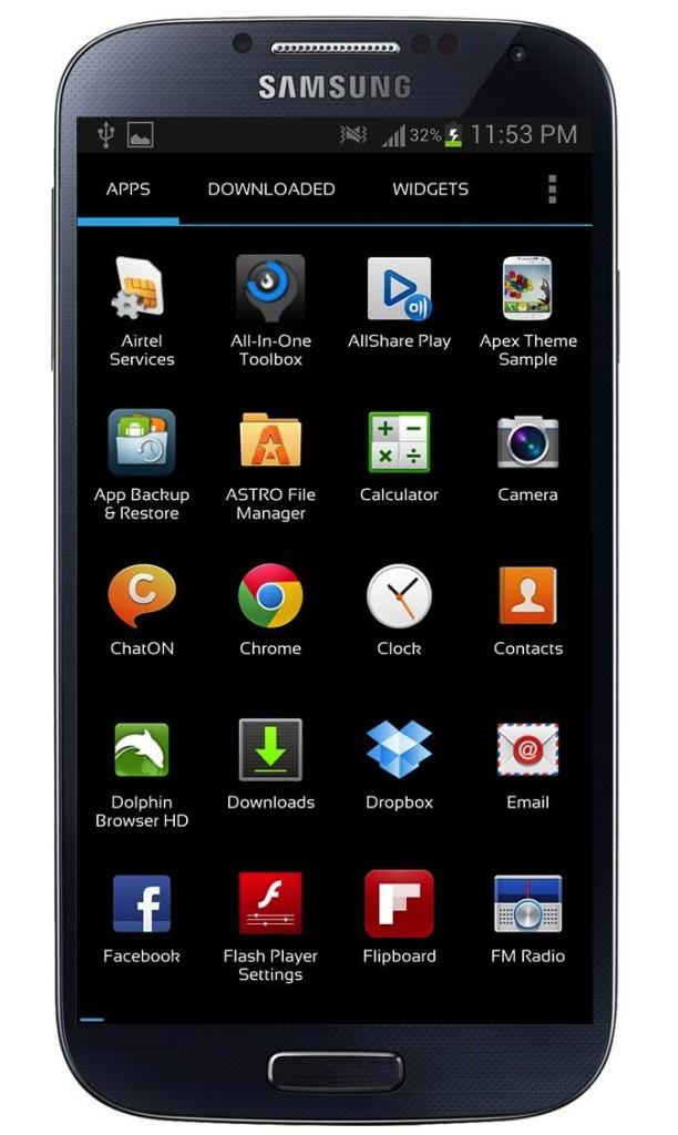 Samsung Galaxy S4 Nova Launcher