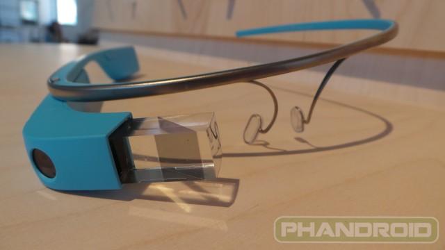 Sky Blue Google Glass