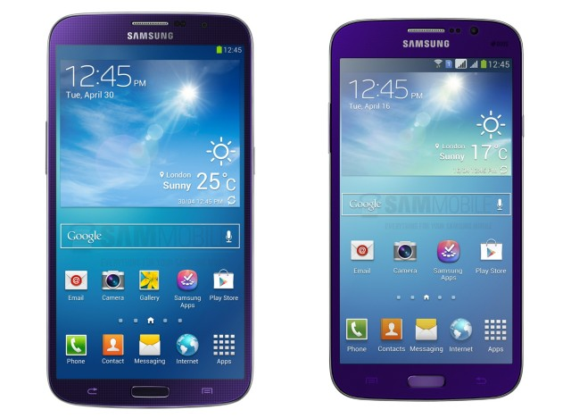 Samsung Galaxy Mega Purple Plum
