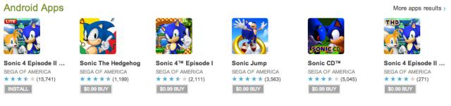 Sonic games 1 buck