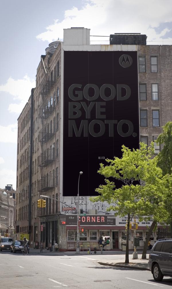 goodbye moto billboard 1
