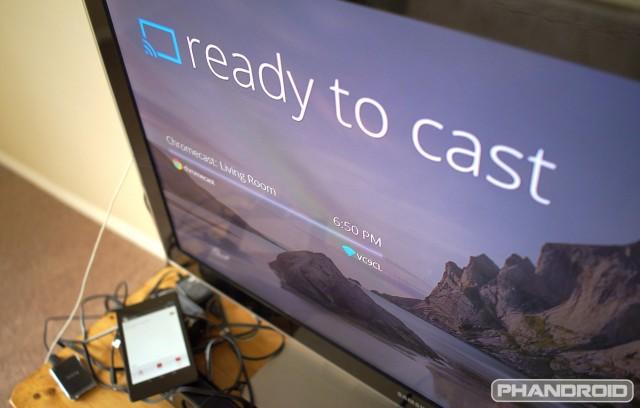 Chromecast Ready To Cast 2