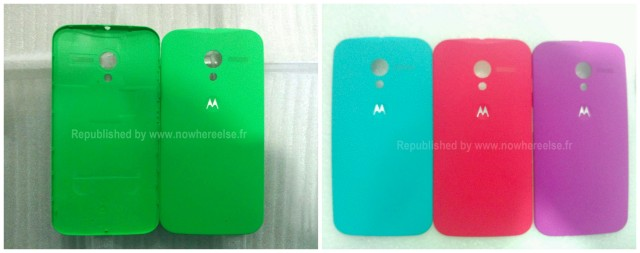 Moto X colored batter covers