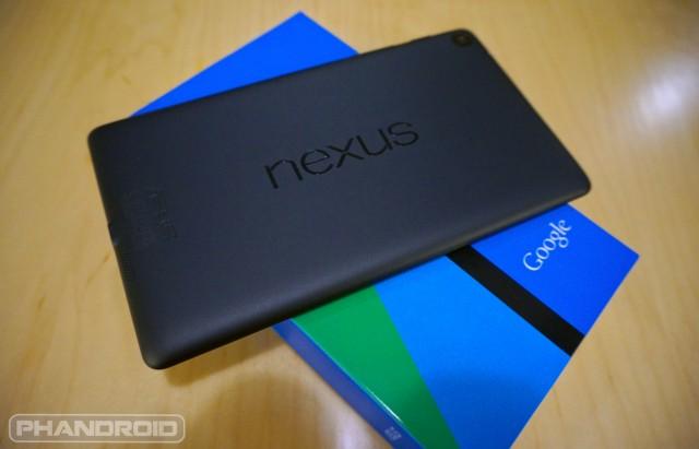 New Nexus 7 wm