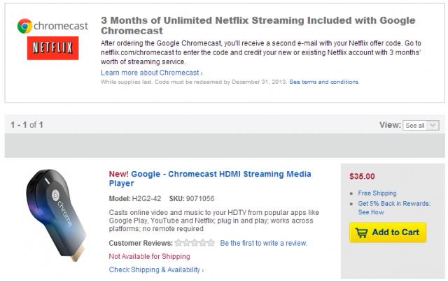 chromecast   Best Buy