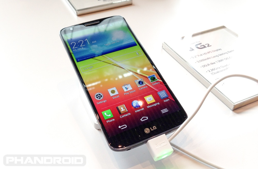LG G2 Google Play edition hopes shot down