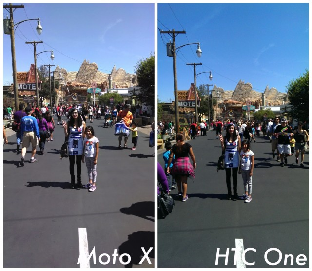 Moto X vs HTC One GPe camera