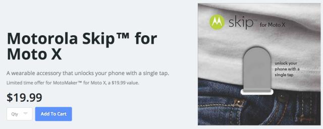 Motorola Skip NFC accessory