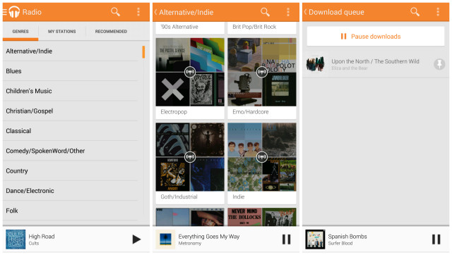 Google Play Music update brings genre stations and download queue