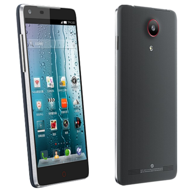 Nubia Z5 front and back