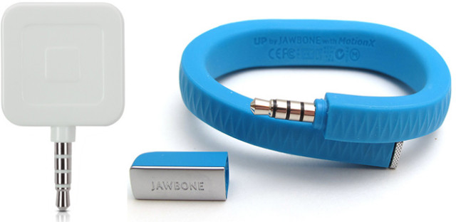 Square Register and Jawbone Up