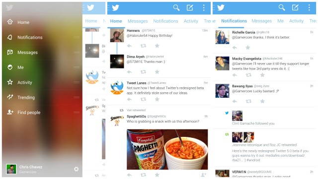 Twitter 5.0 Android