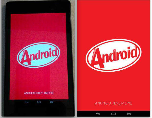 Android KitKat Easter Egg phase 1