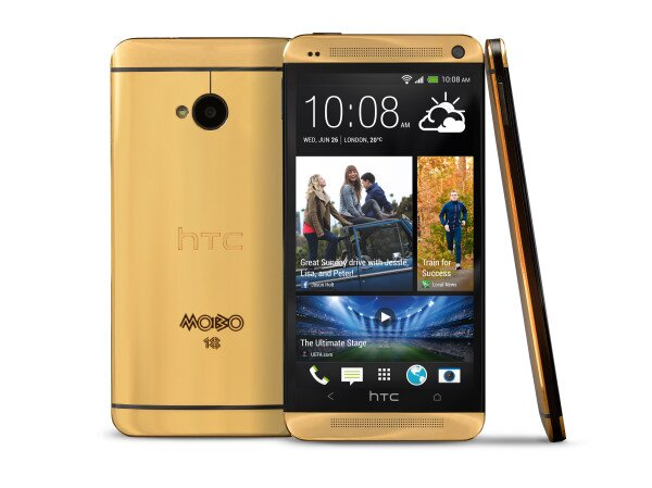 Gold HTC One official