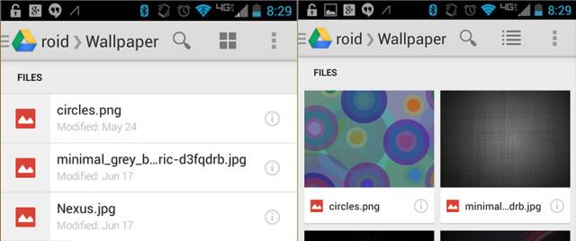 Google-Drive-Files-View
