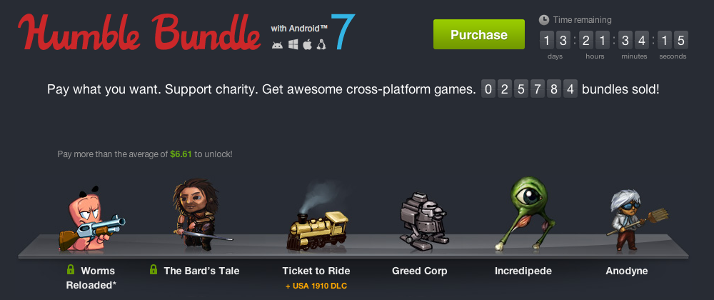 Humble Bundle Update: Humble Bundle For Android 7 Updated With 3 New Games