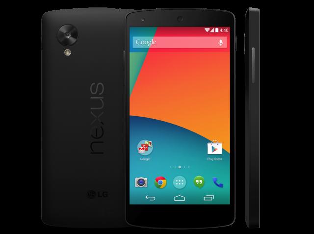 Nexus 5 Google Play Store live
