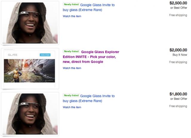 Google Glass eBay