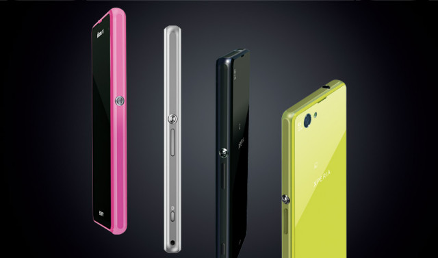 Sony Xperia Z1 f Mini colors