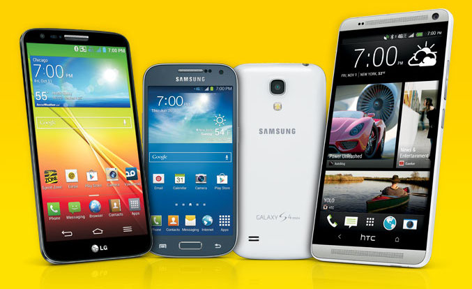 Sprint announces handful of new tri-band LTE devices: Samsung Galaxy
