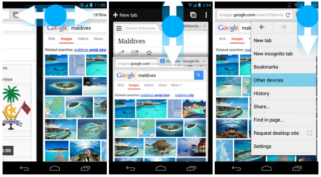 chrome-gestures-android