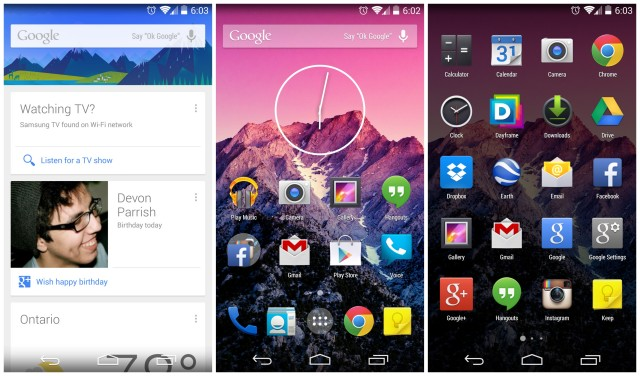 Android 4.4 KitKat launcher